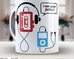Caneca divertida Pai do Ipod - 874