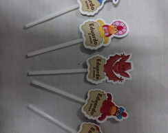 Toppers para Cupcake Cocoricó