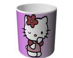 CANECA HELLO KITTY PENSATIVA-6660