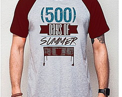 CAMISETA RAGLAN - 500 DAYS OF SUMMER