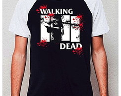 CAMISETA RAGLAN - WALKING DEAD