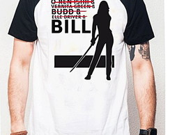 CAMISETA RAGLAN - BILL KILL