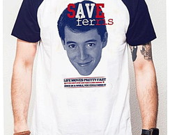 CAMISETA RAGLAN - SAVE FERRIS