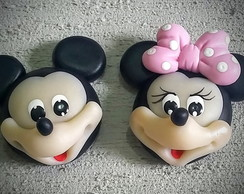 Aplique Minnie e Mickey_4x5 cm