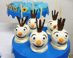 Maçã de Chocolate Frozen - Olaf