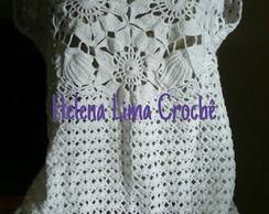 Blusa em Croche  7639a2694bf76
