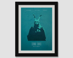 Quadro Minimalista Donnie Darko Filme Decorativo Quarto Sala