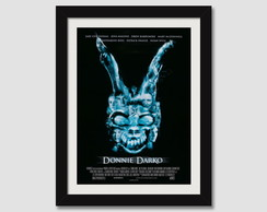 Quadro Moldura Cinema Filme Donnie Darko