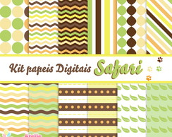 Kit papeis digitais - Safari