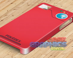 Capinha celular Pokemon Pokedex