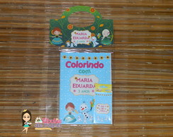Kit Colorir Frozen Fever