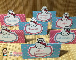Placas para doces Hello Kitty