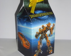 Caixa Milk Estampada Transformers