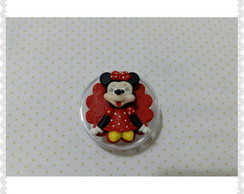 Lembrancinha minnie e mickey em biscuit