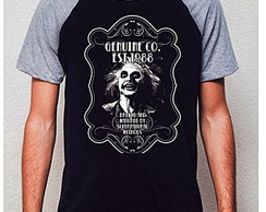 CAMISETA RAGLAN - MANUAL DOS MORTOS