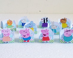 Forminha Peppa Pig e Personagens