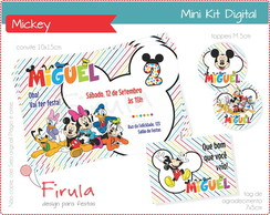 Mini Kit Digital Turma do Mickey