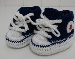 Tênis All Star croche