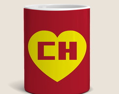 Caneca Chapolin Colorado