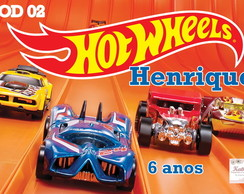Papel Arroz HOT WHEELS
