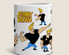 Caneca Johnny Bravo - Cartoon network