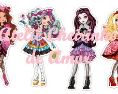Apliques Ever After High Tubetes B