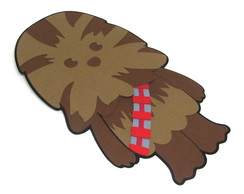Painel Chewbacca Star Wars - Scrap