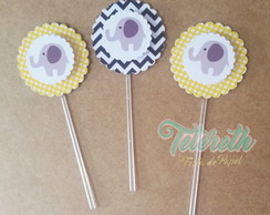 Toppers Scrap Doce/Cupcake