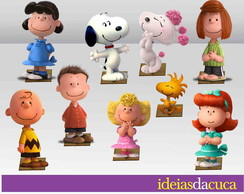 Displays MDF Festa Snoopy Mini Totem