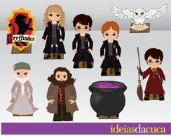 Displays MDF Festa Harry Potter Totem