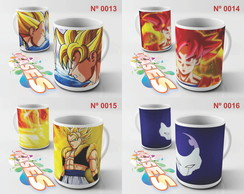 Caneca Dragon ball Z Dragonball Goku SSJ