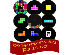 09 Bottons Combo 3,5 - Tetris Games
