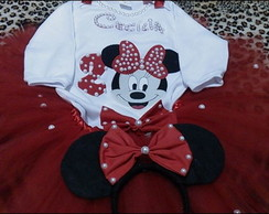 kit fantasia tutu minnie