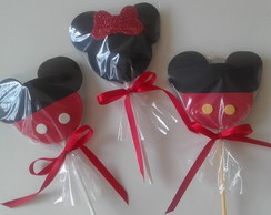 Pirulito Decorado Mickey Minnie