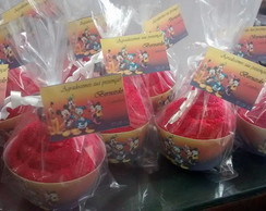 Cupcake tema mickey, minnie