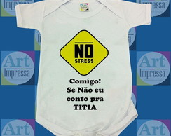 Body Baby Personalizado - No Stress