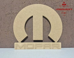Placa decorativa MOPAR Dodge MDF cru