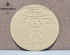 Placa decorativa Maverick 1975 MDF cru