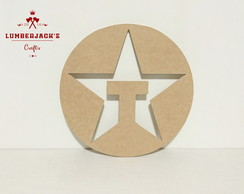 Placa decorativa Texaco MDF cru