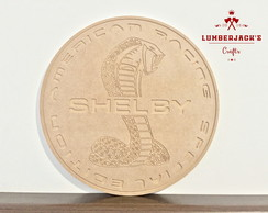 Placa decorativa Shelby MDF cru