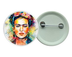 Botton 3,5 - Frida Kahlo Boton Pintura