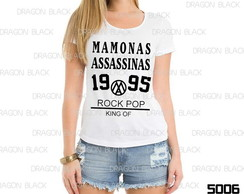 baby look Feminina Mamonas Assassinas