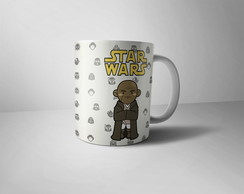 Caneca Star Wars - Mestre Windu