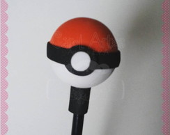 Ponteira decorada pokebola