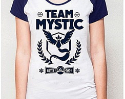 BABY LOOK RAGLAN - TEAM MYSTIC