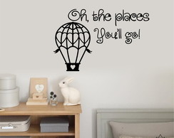 Adesivo Oh The Places A0171