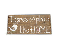 Placa Rústica Place like Home 15% OFF
