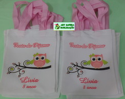 Eco Bag Personalizada Festa do Pijama