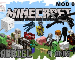 Papel Arroz MINECRAFT