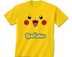 Camiseta Infantil Pokemon
